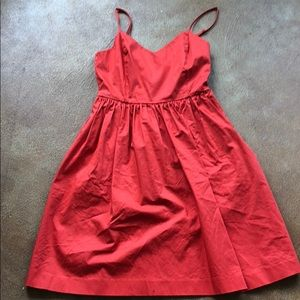 Strappy sundress from the GAP. 90 percent cotton